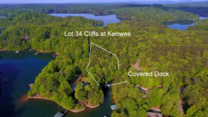 Waterfront lake Keowee lot. JUST LISTED!