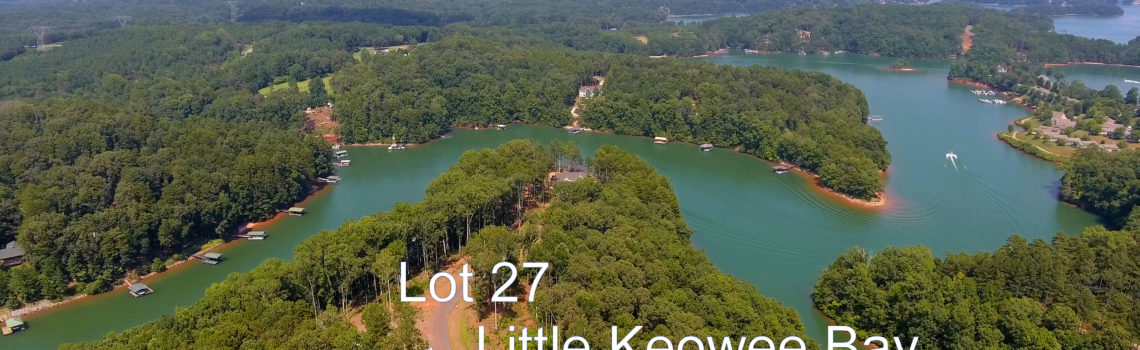 Lot 27 Little Keowee Bay