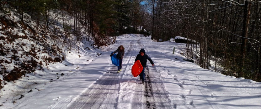 Lake Keowee Real Estate Expert Blog Sunny and Snow!