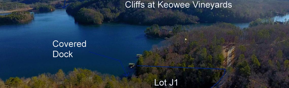 Lot J-1 Cliffs at Keowee Falls North