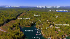 Interior lot with boat slip in Keowee Bay. JUST LISTED!