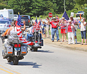 A large contingent of motorcycles will lead a motorcade of marines through the Upstate on Monday as part of the Honoring Their Service event. Height of the selling season.