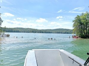 Lake keowee,jumping off rock,Mike,Matt,Roach,Top,Guns,Realty,homes,lots,land,acreage
